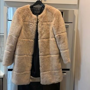 Zara Faux Fur women's Coat